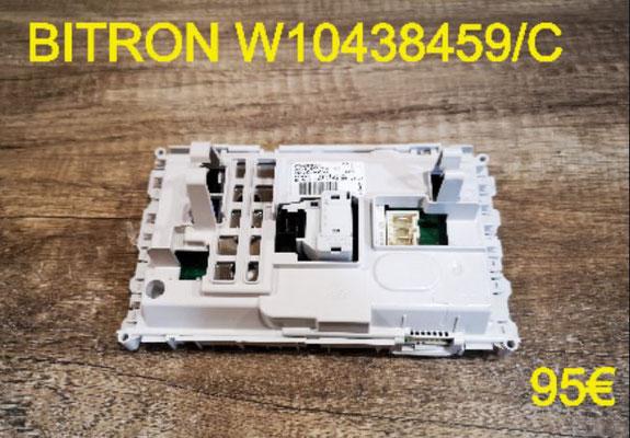 CARTE DE COMMANDE LAVE-LINGE : BITRON W10438459/C