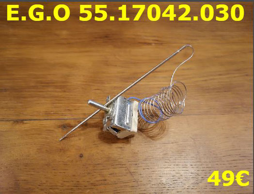 THERMOSTAT DE CUISSON : E.G.O 55.17042.030