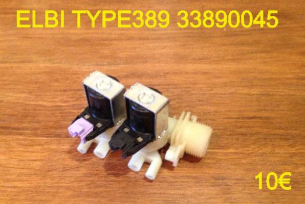 ÉLECTROVANNE 2 VOIE 90° : ELBI TYPE389 33890045