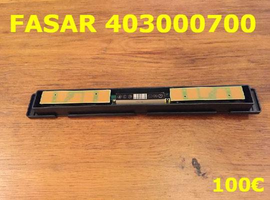CARTE DE COMMANDE HOTTE : FASAR 403000700
