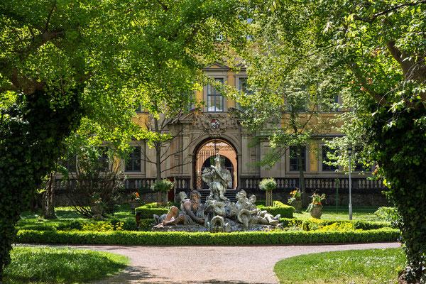 """Georg Wendinger - """"Brunnen"""" Urkunde - Mainfränkisches Fotofestival 2015 - Sonderthema: Öffentliche Gärten und Parks in MainfrankenBezirksfotoschau Mainfranken 2015"""