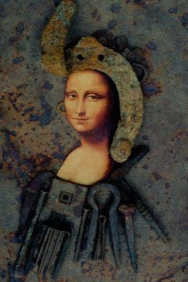 """""""eiserne mona lisa"""" - renate scheurich - urkunde süddeutsche fotomeisterschaft 2000"""
