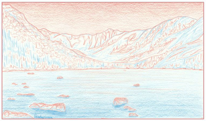 Le Lac-aux-Américains, Parc de la Gaspésie
