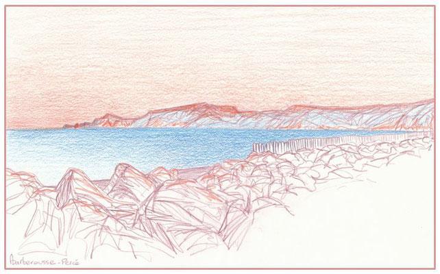 La plage de Coin-du-Banc, Percé