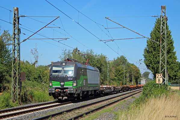 193 231 durchfährt am 23. Juli 2019 Großkrotzenburg.