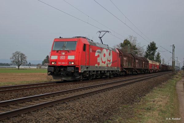 185 399 am 27. März 2018 in Babenhausen (Hessen). (...ja, das Bild kippt etwas nach rechts...)