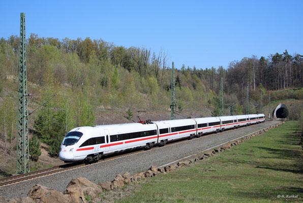 """411 082/582 """"Mainz"""" am 16. April 2019 bei Schlüchtern."""
