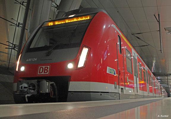 430 124, Frankfurt Flughafen Fernbahnhof, 17. Mai 2017.