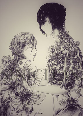 "Soukoku Angst Week Day 1 ""Flowers"""