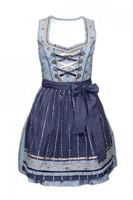 Mini-Dirndl 5342 Marke: Fuchs Trachtenmoden Farbe: hellblau Rocklänge: 50 cm Gr. 30 – 40 109,90 EUR inkl. MwSt.