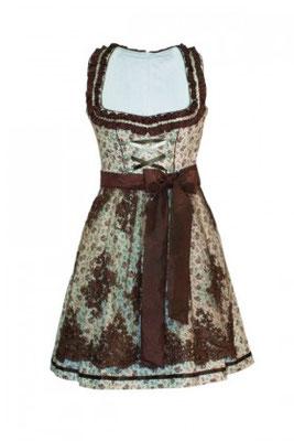 Mini-Dirndl 5300 Marke: Fuchs Trachtenmoden Farbe: grau – rosa Rocklänge: 50 cm Gr. 30 – 38  99,90 EUR inkl. MwSt.
