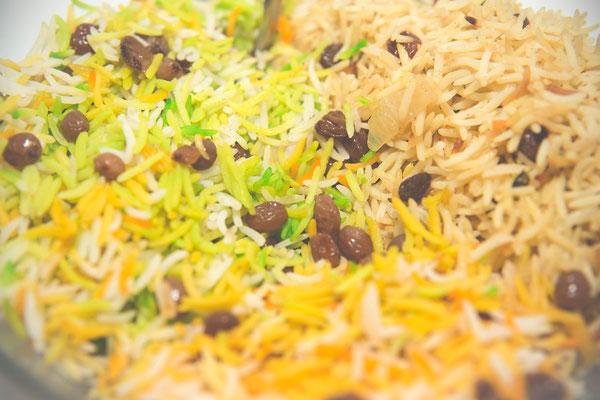 Bunter Reis