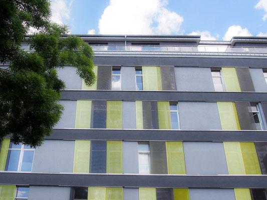 Außenansicht des Apartmentgebäude