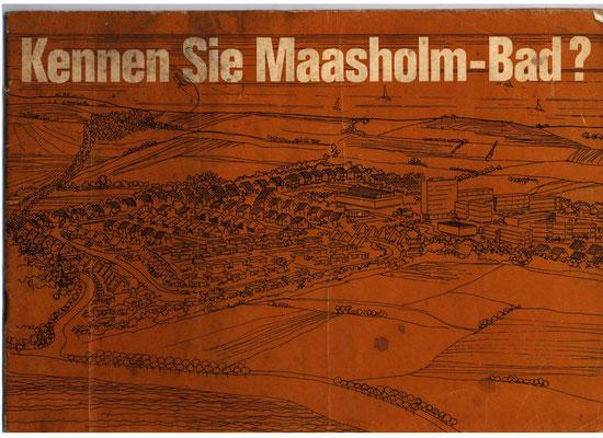 Bauprospekt Maasholm-Bad 1970 Seite 1