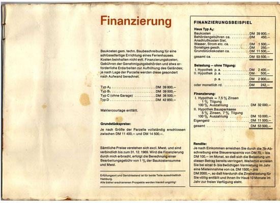 Bauprospekt Maasholm-Bad 1970 Seite 11