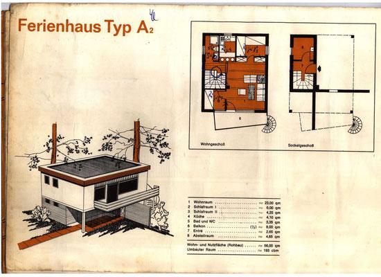 Bauprospekt Maasholm-Bad 1970 Seite 8
