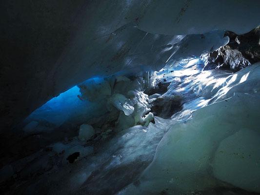 Adula: ghiacciaio Vadrecc di Bresciana, doppio ingresso