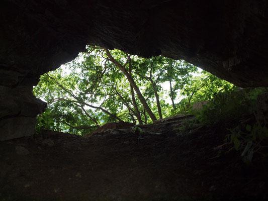 Grotta Prima del Sass del Crin