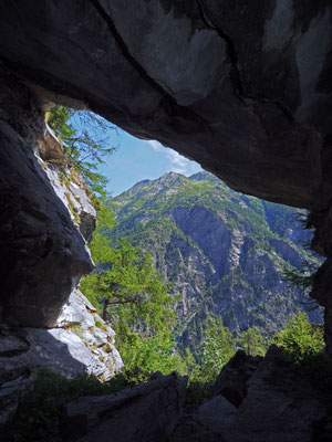 Settima Grotta del Pizzo della Rossa