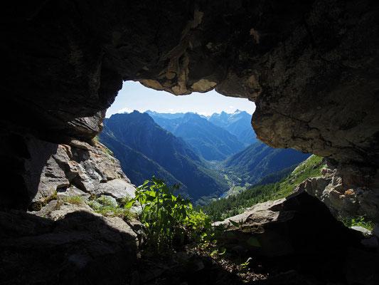 Nona Grotta del Pizzo della Rossa