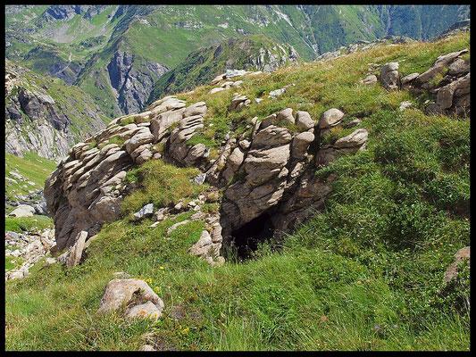 Buco Cruséi: l'entrata