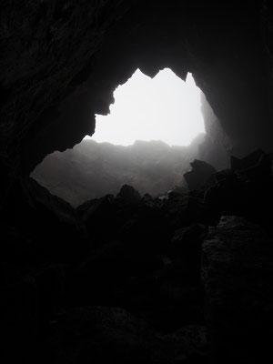 Inghiottitoio dell'Alpe Cara: verso il fondo