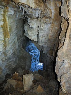 Quarta Grotta nella Valle del Pelc