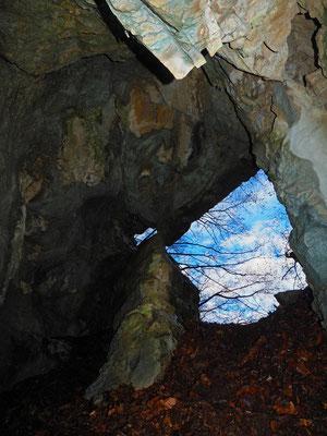 Riparo in Val d'Urio