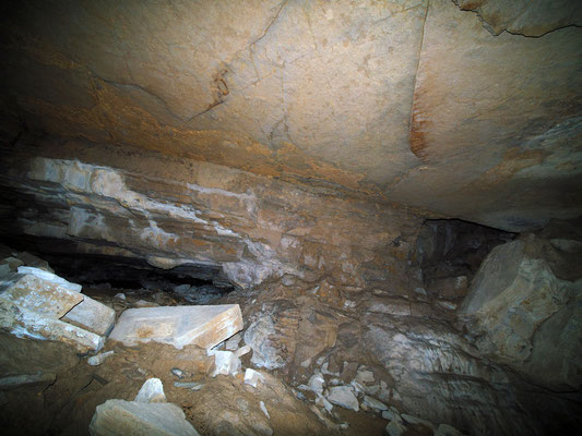 Grotta della Corte di Genova: sala principale