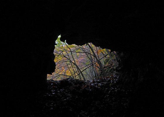 Terza Grotta della Valle del Pelc