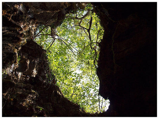 Grotta di Brè: entrata