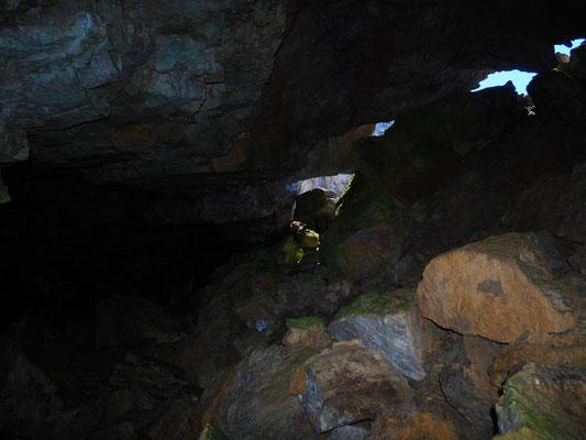 Grotta del Canalone Comera