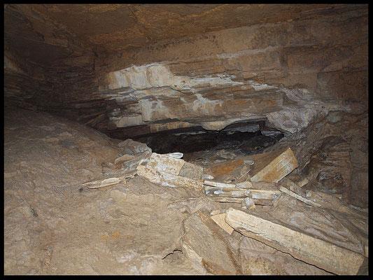 Grotta della Corte di Genova: sala