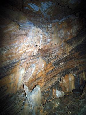 Grotta dei Cugnoli II: base della prima verticale