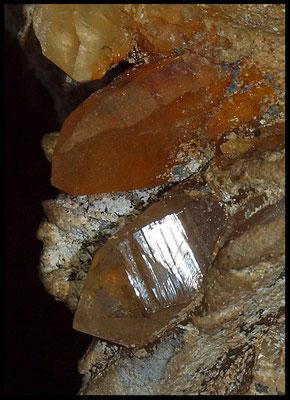 Le Tre Grotte del Motto 2013: cristalli di quarzo