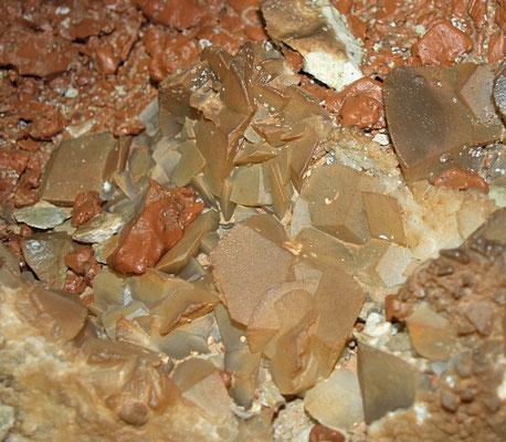 Grotta R3: cristalli di calcite