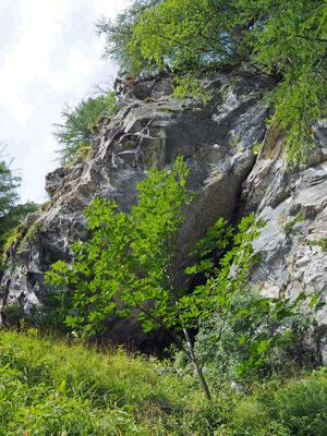 Settima Grotta del Pizzo della Rossa: ingresso