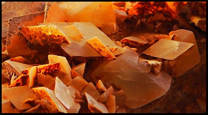Grotta Costa di Prabello VI: cristalli di calcite