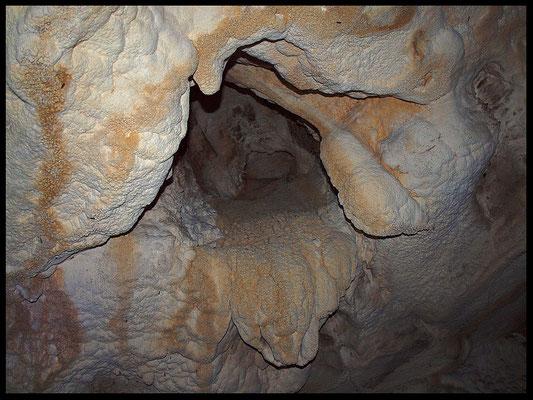Grotta della Corte di Genova: soffitto
