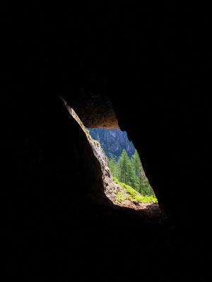 Quarta Grotta del Pizzo della Rossa