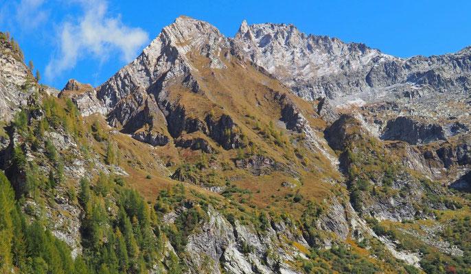 Val Sevinèra: laterale della Val Bavona