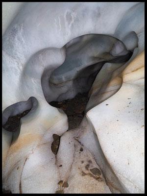 Grotta Glaciale di Scaradra: galleria est