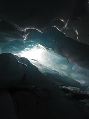 Tiefengletscher: dolina di crollo