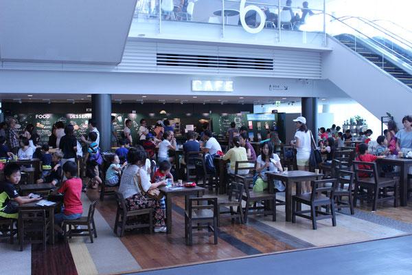 Das hauseigene Cafe.