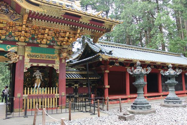 Taiyuinbyo-Schrein liegt ein wenig abseits und wird von den Touristenmassen glücklicherweise häufig ignoriert