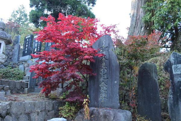 """Der Shintō-Schrein namens """"Musashi Mitake Jinja""""."""