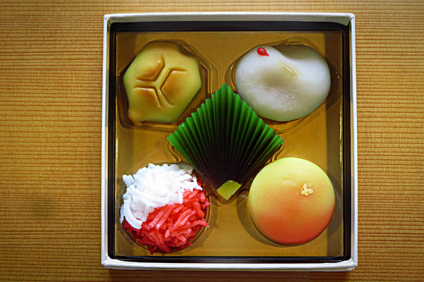 Wa-gashi (jap. Süßigkeiten)