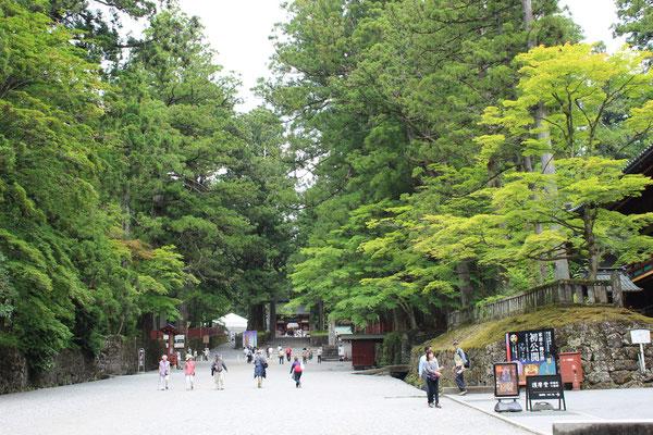 Omotesando, die Pilgerstraße