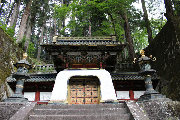 Iemitsu-Mausoleum (Taiyuinbyo-Schrein). Hier ruht Ieyasus Großenkel Iemitsu (1604-51).
