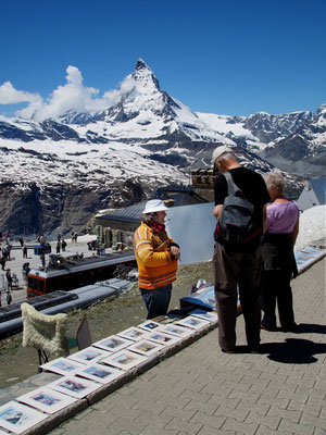 Gornergrat - Blick zum Matterhorn
